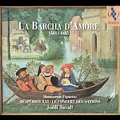 La Barcha d'Amore / Jordi Savall, et al
