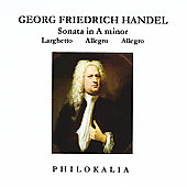 Georg Friedrich Handel: Sonata in A minor