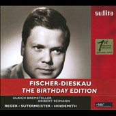 Dietrich Fischer-Dieskau Sings Reger, Sutermeister, Hindemith