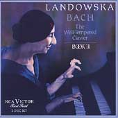 Bach: Well-Tempered Clavier, Book 2 / Wanda Landowska