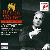 Bruno Walter Edition - Conducts and talks about Mahler 9