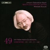 Bach Cantatas Vol. 49 / Suzuki, Nicholls, Blaze, Turk, Kooij