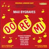 Jule Styne: Do Re Mi, Original London Cast / Bygraves, Fitzgibbon, Lander, Green, et al.