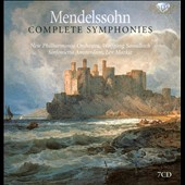 Mendelssohn: Complete Symphonies / Sawallisch, Markiz