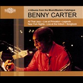Benny Carter (Sax): All That Jazz: Live At Princeton/Legends/New York Nights: Live At The Iridium/Songbook [Box]