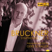 Bruckner: Symphonies Nos. 1-3 / Gerd Schaller
