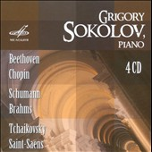 Grigory Sokolov Plays Beethoven, Chopin, Schumann, Brahms, Tchaikovsky, Saint-Sa&#235;ns