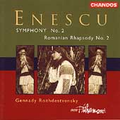Enescu: Symphony no 2, etc / Rozhdestvensky, BBC Phil