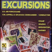 Excursions - U.S. Air Force Band plays Stamp, Sparke, Broughton & Barnes
