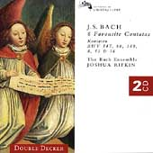 Bach: Cantatas 147, 80, 8, 140, etc / Rifkin, Bach Ensemble