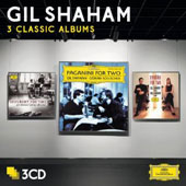 3 Classic Albums: Schubert for Two; Paganini for Two; Dvorak for Two / Gil Shaham, violin; Goran Sollscher, guitar