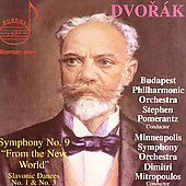 Dvorak: Symphony no 9, etc / Pomerantz, Mitropoulos