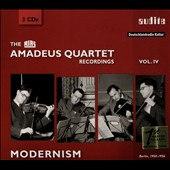RIAS Amadeus Quartet Recordings, Vol. 4: Modernism - Quartets by Britten, Tippett, Purcell, Seiber, Bartok (rec. 1950-1956, Berlin)