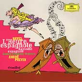 Ravel: L'Heure espagnole, etc / Previn, London SO