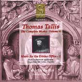 Tallis - Complete Works Vol 4 / Dixon, Chapelle du Roi