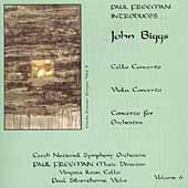Biggs: Orchestral Music / Paul Freeman, Czech National SO