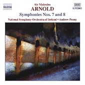 Arnold: Symphonies no 7 & 8 / Penny, Ireland National SO