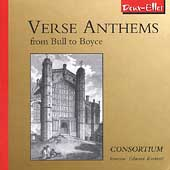 Verse Anthems - From Bull to Boyce / Barbieri, Consortium