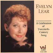 Evelyn Lear - A Celebration of Twentieth-Century Song