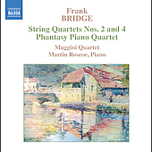 Bridge: String Quartets no 2 & 4 / Maggini Quartet