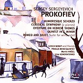 Prokofiev:Humoresque Scherzo, etc / Czech Nonet, et a