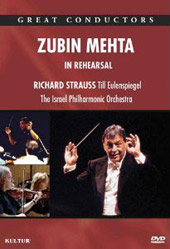 Zubin Mehta: In Rehearsal with The Israel Philharmonic / R. Strauss [DVD]