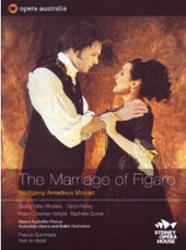 Mozart: The Marriage of Figaro / Summers, Rhodes, Fiebig, Coleman-Wright [2 DVD]