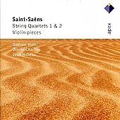 Saint-saens: String Quartets Nos. 1 & 2, Violin Pieces