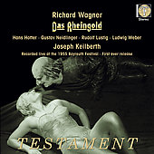 Wagner: Das Rheingold / Keilberth, Hotter, Lustig, et al