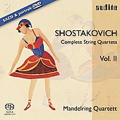 Shostakovich: String Quartets, Vol II / Manderling Quartet