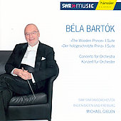 Bartok: The Wooden Prince, Concerto for Orchestra / Gielen