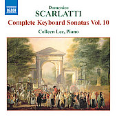 D. Scarlatti: Complete Keyboard Sonatas Vol 10 / Colleen Lee