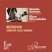 Beethoven: Sonatas for Cello / Natalia Gutman, Elisso Wirssaladze
