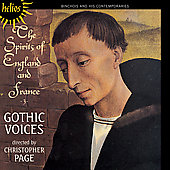 The Spirits of England & France Vol 3 / Christopher Page, Gothic Voices