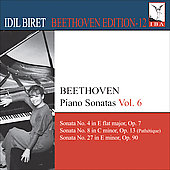 Idil Biret Beethoven Edition, Vol 12 - Piano Sonatas, Vol 6