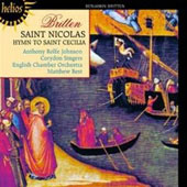 Britten: St. Nicolas / Johnson, Eco, Best, et al
