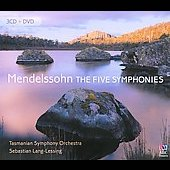 Mendelssohn: The Five Symphonies [3CDs + DVD] [Box Set]