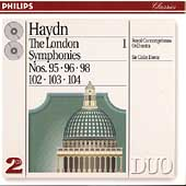 Haydn: The London Symphonies Vol 1 / Davis, Concertgebouw