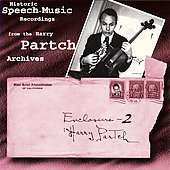 Historic Speech - Music Recordings from the Partch Archives