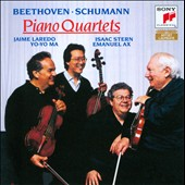 Beethoven, Schumann: Piano Quartets / Laredo, Stern, Ma & Ax