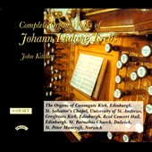 Johann Ludwig Krebs: Complete Organ Works / John Kitchen, organ