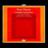Ernst Krenek: Complete Symphonies nos 1-5 / NDR PO Hannover [4 CDs]