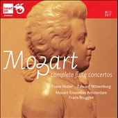 Mozart: Complete Flute Concertos / Frans Vester, Edward Witsenburg, flutes. Frans Bruggen