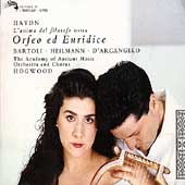 Haydn: Orfeo ed Euridice / Hogwood, Bartoli, Heilmann, et al