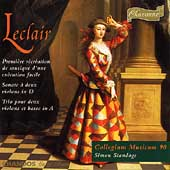 Leclair: Premi&egrave;re r&eacute;cr&eacute;ation, etc / Standage, Collegium M90
