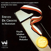 Van Cliburn Competition Retrospectives Vol 1 - In Memoriam