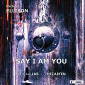 Michael Ellison: Say I am You (Mevlana) / Angela Postweller, Tiemo Wang, Arnout Lems