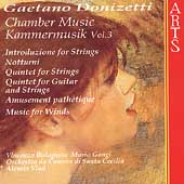 Donizetti - Chamber Music Vol 3 / Bolognese, St. Cecilia CO