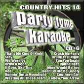 Karaoke: Party Tyme Karaoke: Country Hits, Vol. 14 [6/24]