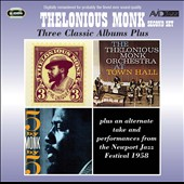 Thelonious Monk: Three Classic Albums Plus *